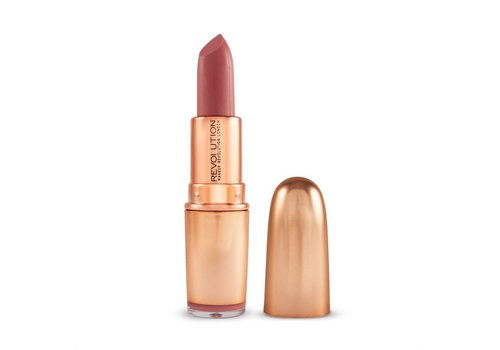 Makeup Revolution Iconic Matte Nude Revolution Lipstick Lust
