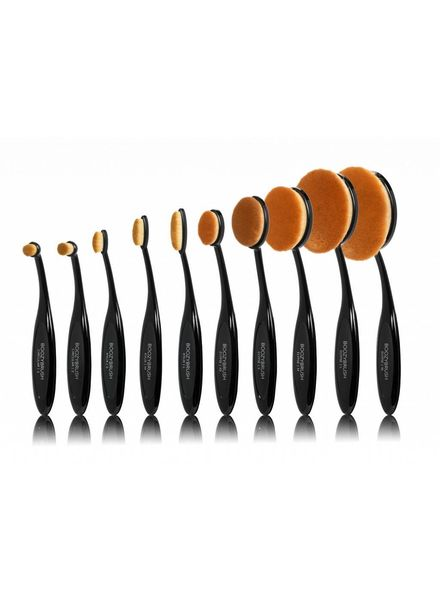 Boozy Cosmetics Boozy Cosmetics 10 pc BoozyBrush Black Oval Brush Set