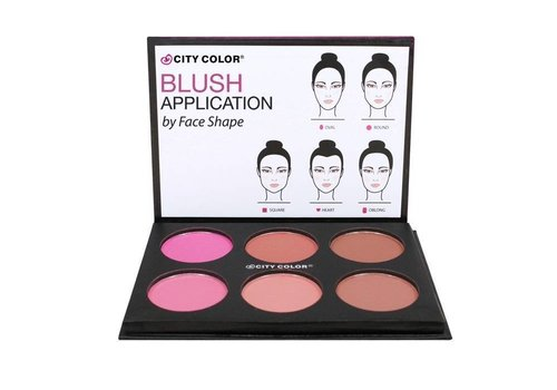 City Color Glow Pro Blush Matte Collection