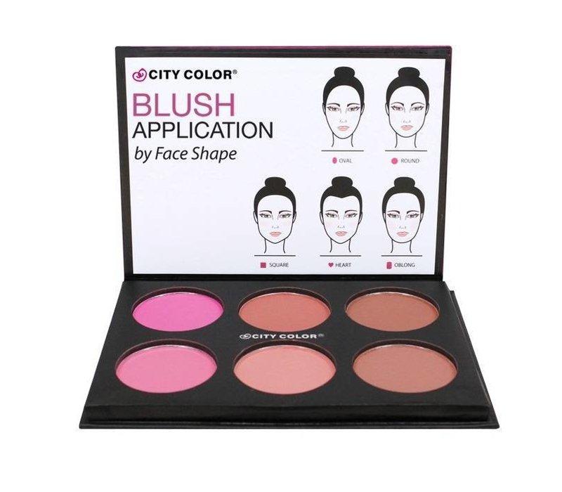 City Color Glow Blush Pro Matte Collection