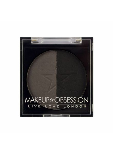 Makeup Obsession Makeup Obsession Brow Duo Powder Refill BR110 Granite