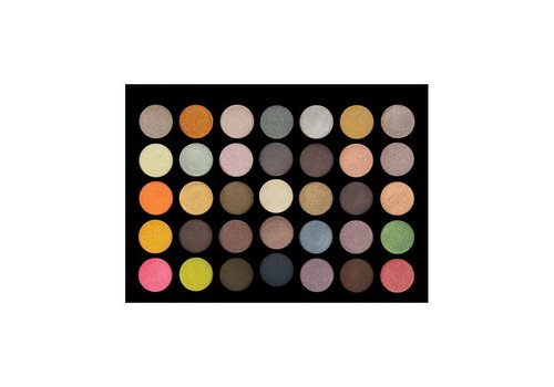 Crown Brush 35 Colour Metal Madness Palette