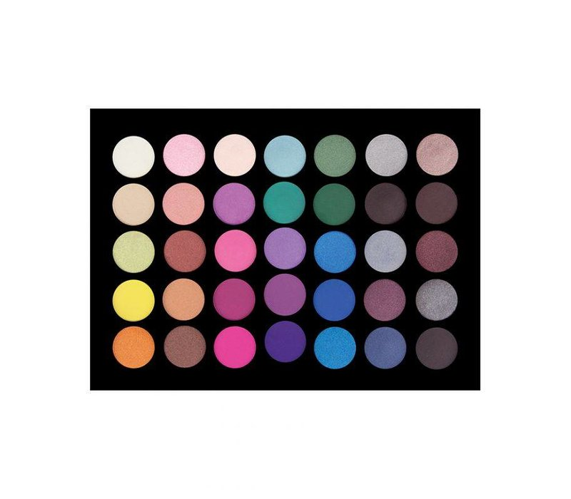 Crown Brush 35 Colour Smoke it Out too Eyeshadow Palette