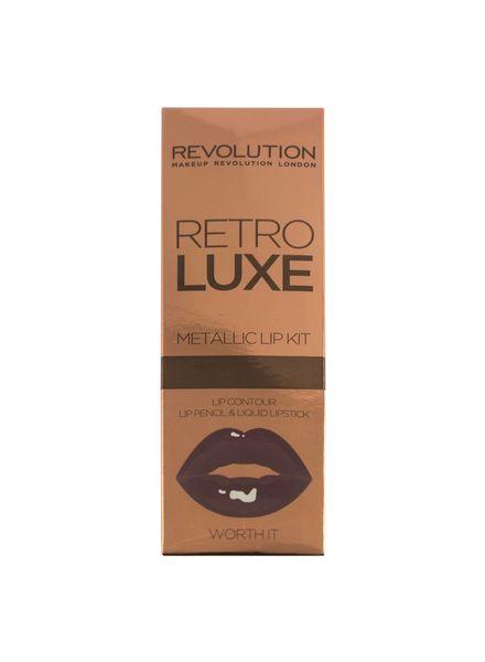 Makeup Revolution Makeup Revolution Retro Luxe Kits Metallic Worth It