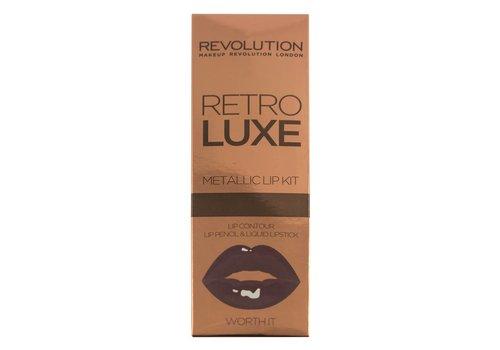 Makeup Revolution Retro Luxe Kits Metallic Worth It