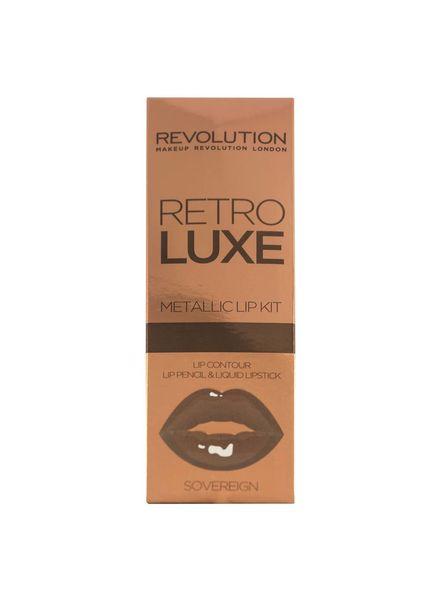 Makeup Revolution Makeup Revolution Retro Luxe Kits Metallic Sovereign