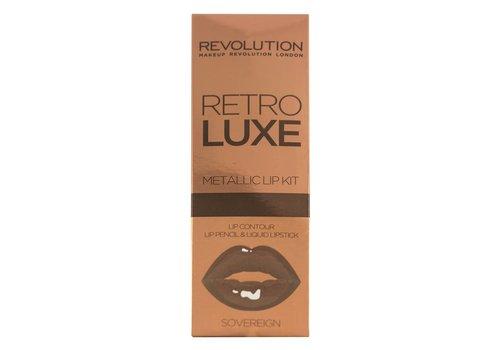 Makeup Revolution Retro Luxe Kits Metallic Sovereign