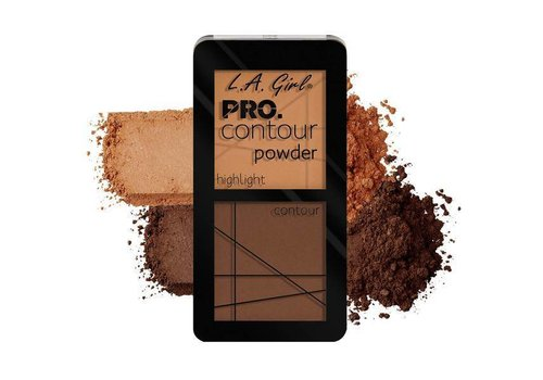 LA Girl Contour Powder Medium Deep