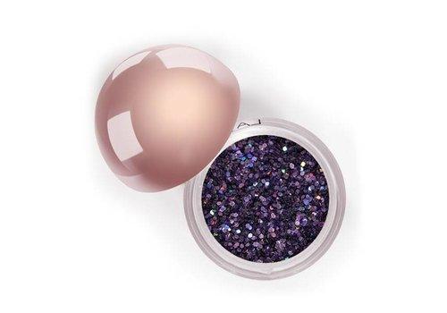 LA Splash Crystalized Glitter Bachelorette Blush