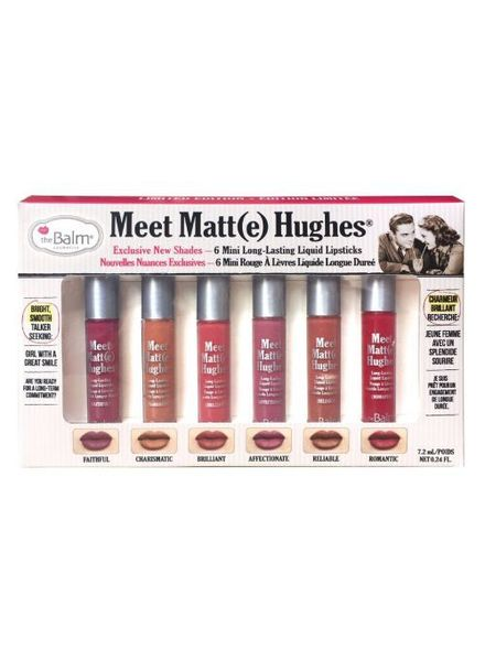 TheBalm The Balm Meet Matte Hughes Mini Liquid Lipstick Set