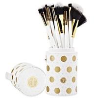 BH Cosmetics Dot Collection 11 Piece Brush Set White