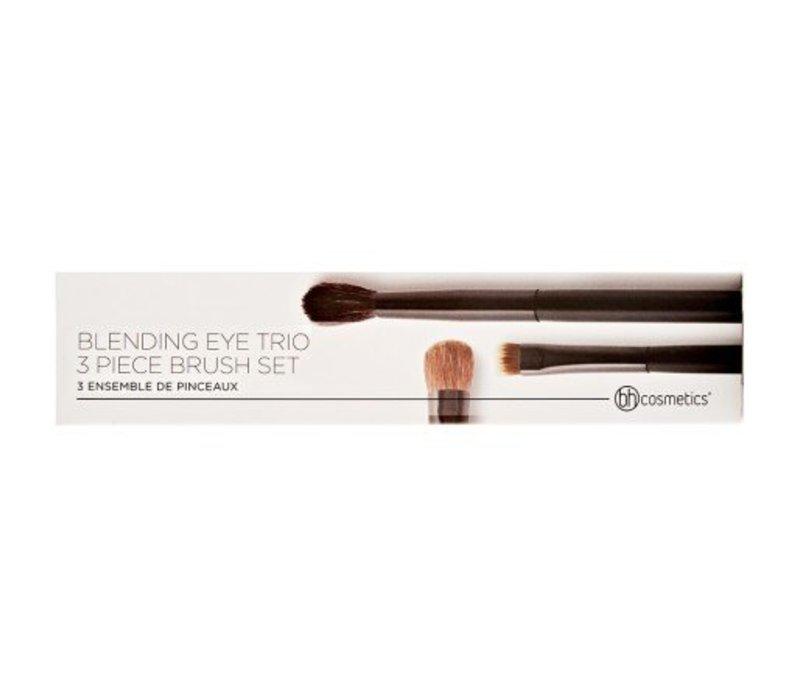BH Cosmetics Blending Eye Trio 3 Piece Brush Set