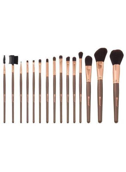 BH Cosmetics BH Cosmetics 15 pc Rose Gold Brush Set