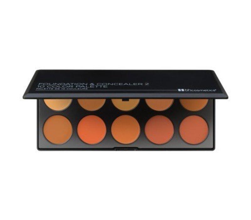 BH Cosmetics Foundation & Concealer Palette 2