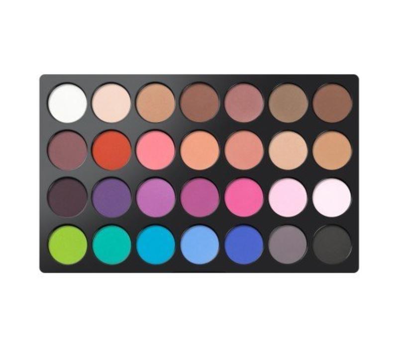 BH Cosmetics Modern Mattes 28 Color Eyeshadow Palette