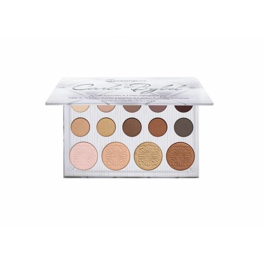 BH Cosmetics BH Cosmetics Carli Bybel 14 Color Eyeshadow & Highlighter Palette
