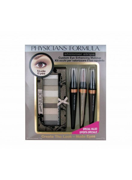 Physicians Formula Physicians Formula Shimmer Strips Nude Eyes Kit