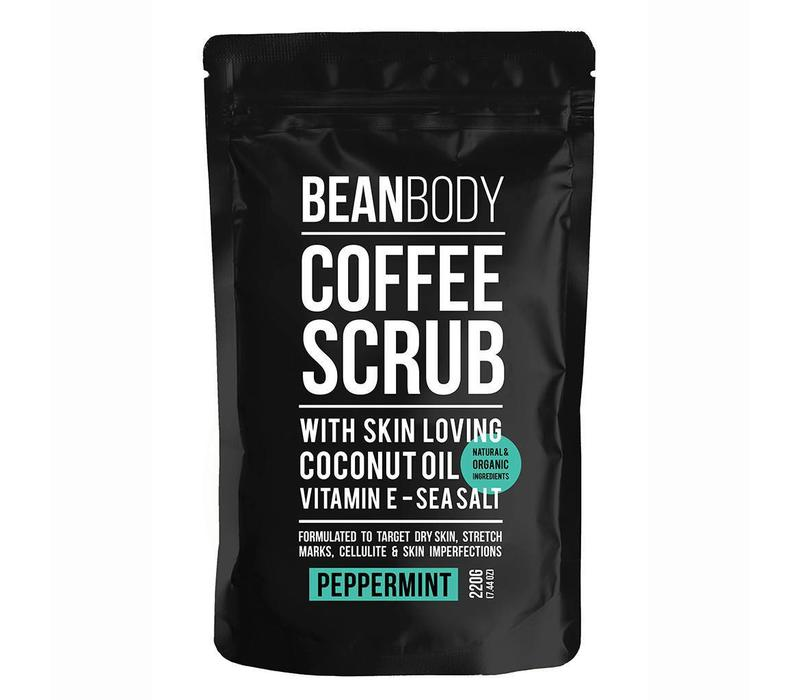 Bean Body Coffee Scrub Peppermint 220 gr.