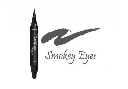 Sanfilippo Wing it! Wing it! Eyeliner Thin Smokey Eyes
