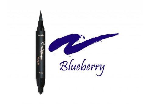 Sanfilippo Wing it! Wing it! Eyeliner Thin Blueberry