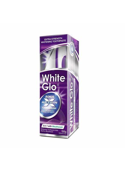 White Glo White Glo 2 in 1 With Mouthwash Whitening Toothpaste