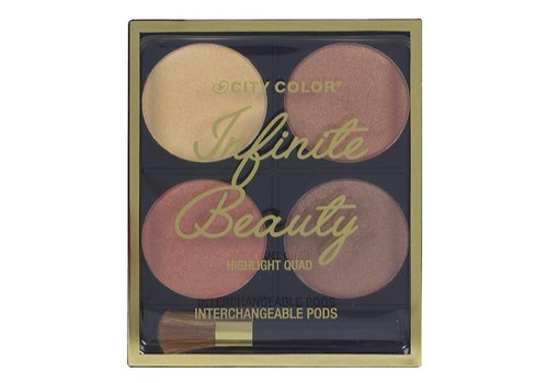 City Color Infinite Beauty Highlight Quad