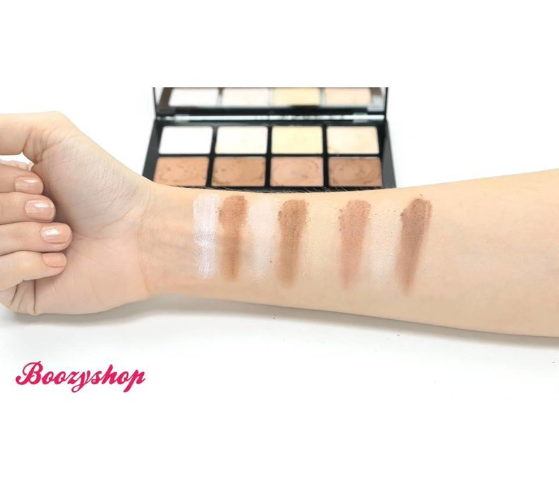 Freedom HD Highlighter & Contour Set (+double end brush)