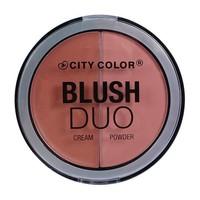 City Color Blush Duo Peachy Nude