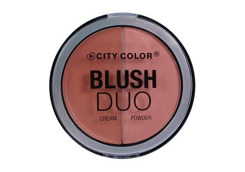 City Color Blush Duo Peachy Nude