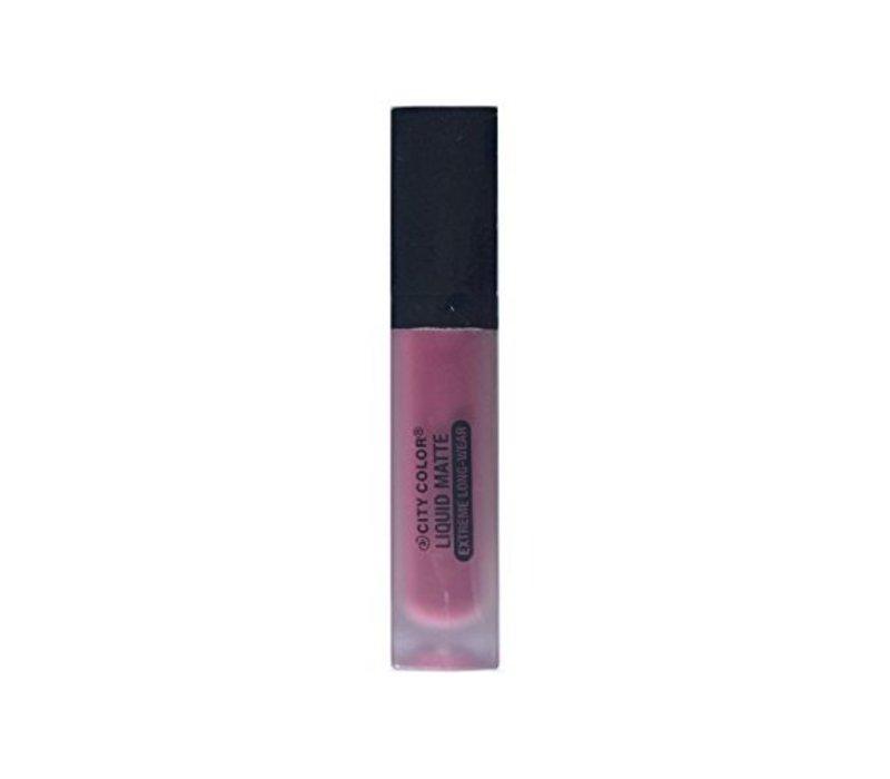 City Color Liquid Matte Extreme Long-Wear Lipstick Purple