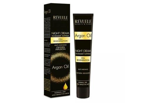 Revuele Argan Oil Moisturising Face Cream Night