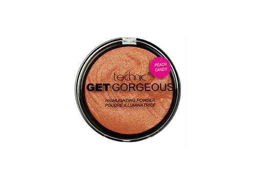 Technic Get Gorgeous Peach Candy Highlighter Powder