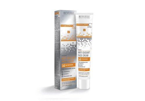 Revuele Vitanorm C+ Energy Anti-oxidant Face Cream Night