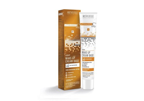 Revuele Vitanorm C+ Energy Make-Up Cream Base Light
