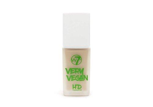 W7 Cosmetics Very Vegan Foundation Bare Buff