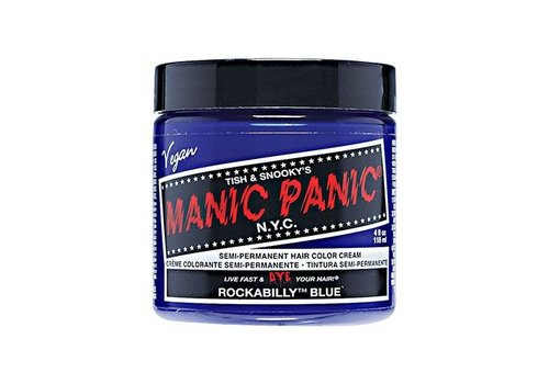 Manic Panic Rockabilly Blue Hair Color