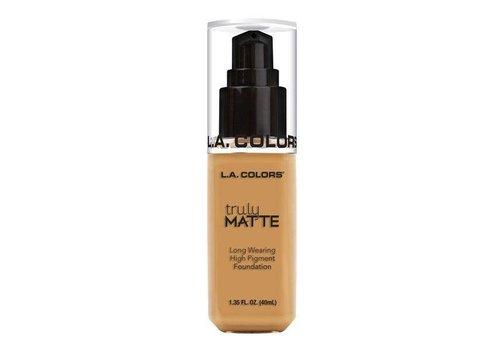 LA Colors Truly Matte Foundation Golden Beige
