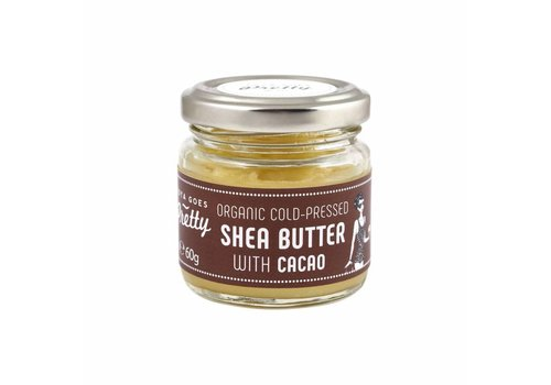 Zoya Goes Pretty Shea and Cacao Butter Cold Pressed and Organic 60 gr.