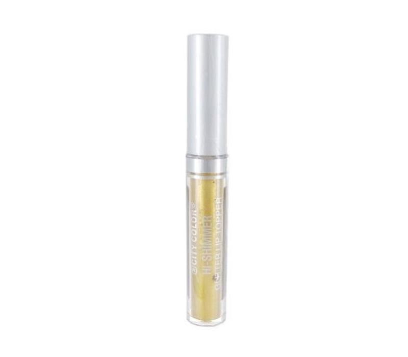 City Color Hi-Shimmer Glitter Lip Topper Gold