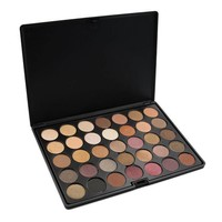 Crown Brush 35 Color Tuscany Eyeshadow Palette