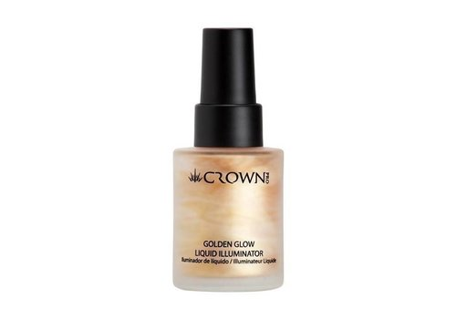 Crown Brush Liquid Illuminator Golden Glow