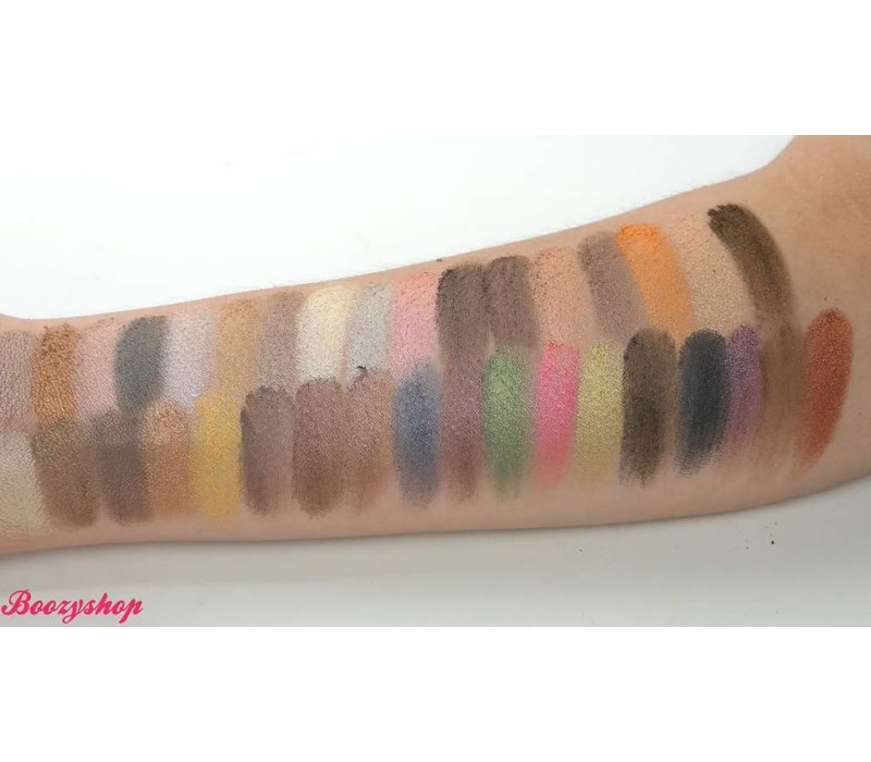 Crown Brush 35 Color Metal Madness Eyeshadow Palette