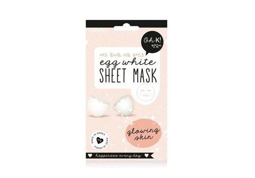 Oh K! Sheet Mask Egg White