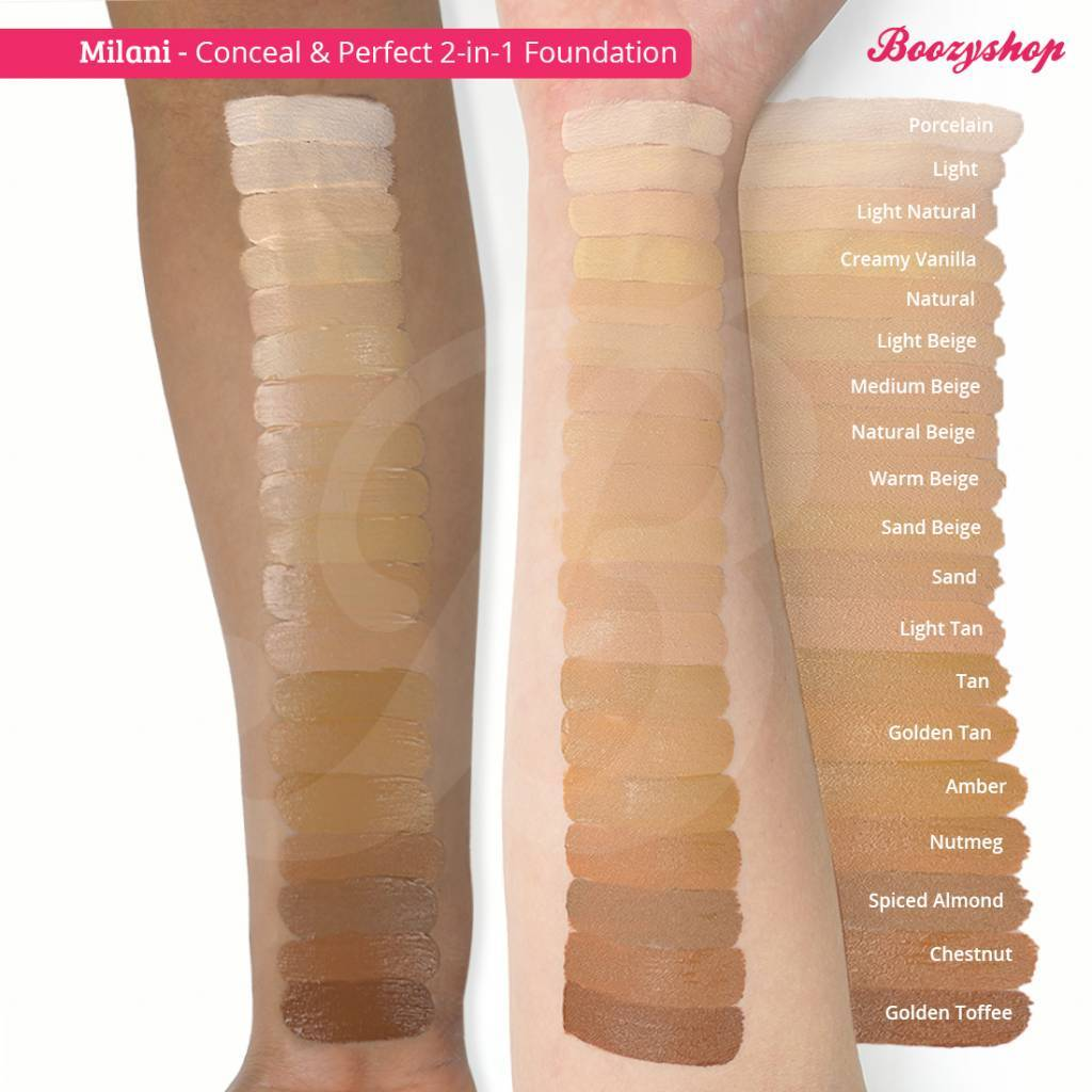 Milani Conceal Amp Perfect 2 In 1 Foundation And Concealer