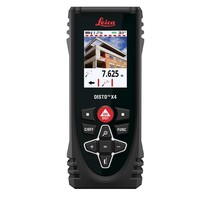 Leica LEICA DISTO X4 LASER AFSTANDSMETER 150 METER, 1MM, BLUETOOTH, IP65, CAMERA