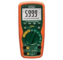 Extech Extech EX520 Industriële True RMS Multimeter + Waterdichte Behuizing