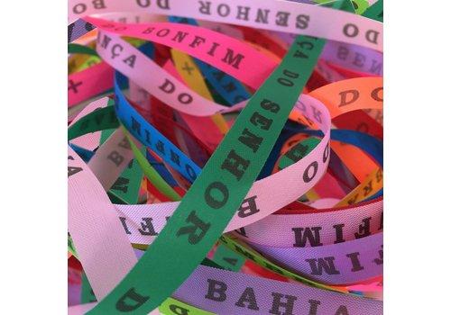 MixMamas Bonfim lint - Set van 24 Bonfim Lintjes 43 cm - Multicolor