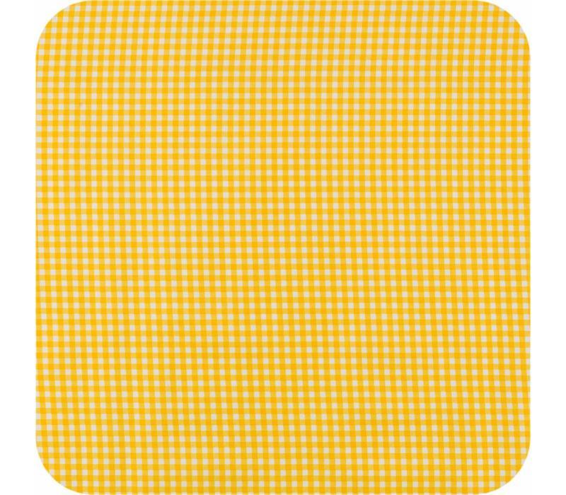 Mexicaans tafelzeil op rol 11m Ruit geel