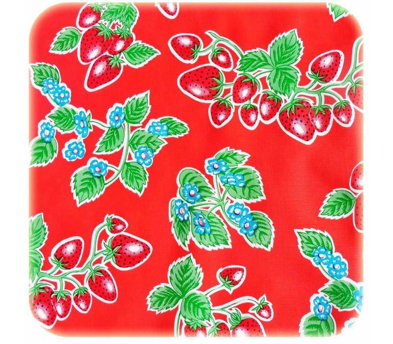 Mexicaans tafelzeil op rol 11m Aardbei rood