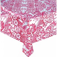 Tafelzeil Paraiso / Barok - Rol - 120 cm x 11 m - Fuchsia